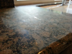 Granite Crack Repair - Before